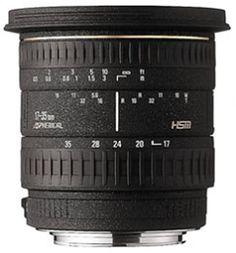 Sigma 17-35mm F2.8-4 EX Aspherical HSM Lens for Canon-AF Camera