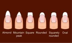 How do you shape you're nails?