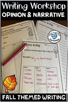 bbf92b7ece7 25 pages of fall themed writing activities and prompts to keep your  students engaged! Practice