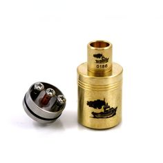 New mod reviews and news! Visit http://www.whichecigarette.com/review-cats/premium-ecigarettes/ for the hottest vaping devices on the market #whichecigarette Tugboat Brass RDA by Flawless