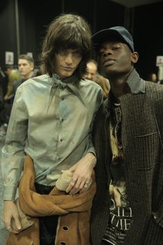 Backstage at Vivienne Westwood #AW1516 MAN