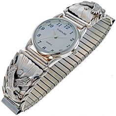 Native American Eagle Mens Watch 24457 | Alltribes
