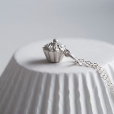 Cupcake Necklace by Lily Charmed www.lilycharmed.com design your own charm necklace and add a personal message