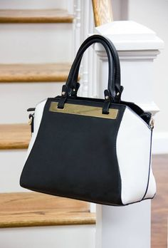 Neutral Pops Balance Your Look In Black White Bags Cute