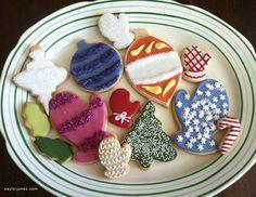 Christmas cookies, early