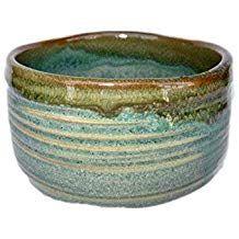 Matcha bowl Japanese tea cup for tea ceremony, authentic ceramic Made in Japan Green Ceremonial Grade Matcha, Japanese Tea Cups, Matcha Bowl, Amazon Coffee, Organic Matcha, Tea Ceremony, Decorative Bowls, Ceramics, Green