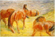 Bildergebnis für franz marc turm der blauen pferde