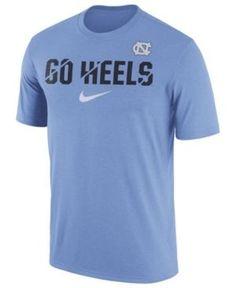 Nike Men's North Carolina Tar Heels Legend Ignite Verbiage T-Shirt - Blue XXL
