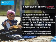 Journée mondiale des réfugiés : 1 réfugiés sur 2 est un enfant #WorldRefugeeDay #WithRefugees