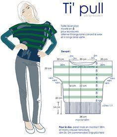 Pull à tricoter (aiguilles 6)