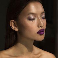 #MamakeupArtist by @nettart for @maccosmetics The #perfect #winter #trend #lips #mymakeup for @_karinnah_ wearing the #new #mac #Retromatte #liquidlipstick #metallic in #crowned #MakeupArtist #Makeup #Beauty #MACSeniorArtist #Love #MakeupAddict #MACAddict #MUA #fashion @maccosmetics #mac #makeupfan #maccosmetics #macartistchallenge #macretromattemetallics #macretromatteliquidlipstick shot by @ayeletr #macnewyear #CommingSoon