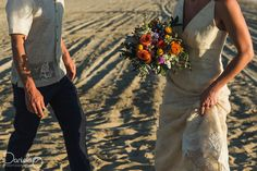 Destination beach wedding in Rancho Pescadero Baja California Sur.