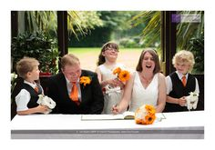 Natural wedding photography in Lyndhurst