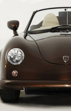Porsche 356, Chocolate Color, Chocolate Brown, Haute Chocolate, Jaguar, Convertible, Lamborghini, Ferrari, Brown Shades