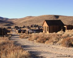 Bodie Ghost Town - Cool yet creepy and yes we will go there too.