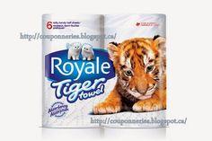 Coupons et Circulaires: 1,00$ sur Royale Tiger Towel