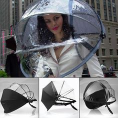 DAY 6 $212.85  Nubrella Hands Free Umbrella