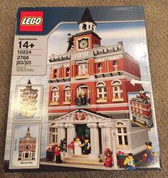 LEGO Creator Town Hall 10224 NISB NEW Retired FREE ship #LEGO
