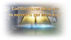 Español,Spanish  Las Escrituras dicen que es necesario que así se haga▶Iglesia de Dios sociedad misionera mundial