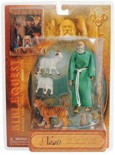 Bible Quest Angel /& Shepherd Action Figure Set New In Box