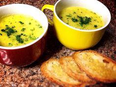 Creme de batata salsa com bacalhau :: Pimenta na cozinha