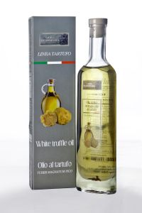 Truffle oil is not used for cooking as the heat adulterates their flavours. It is almost exclusively used as a finishing oil and is simply drizzled over a dish at the end of the preparation, usually in small amounts