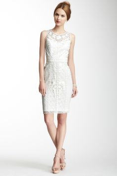 Sue Wong Embroidered Sleeveless Dress <3
