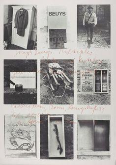 Joseph Beuys 'Joseph Beuys. Multiples, Bücher und Katalogue', 1973 © DACS, 2016