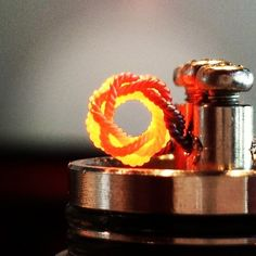 2 x 3 strand twisted 28g sexy build by @twistedmesses