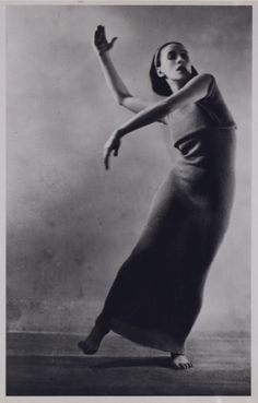 Soichi Sunami. Martha Graham 1933. Ekstasis .Via libraryofcongress