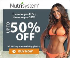 Here's a new #deal on Nutrisystem. Save up to 50%.