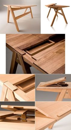 Esstisch Design – causes. Wooden Furniture, Furniture Plans, Cool Furniture, Furniture Design, Esstisch Design, Design Tisch, Woodworking Plans, Woodworking Projects, Woodworking Joints