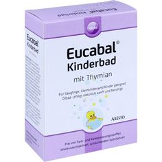 EUCABAL Kinderbad mit Thymian:   Packungsinhalt: 130 ml Bad PZN: 10738557 Hersteller: Aristo Pharma GmbH Preis: 5,45 EUR inkl. 19 % MwSt.…