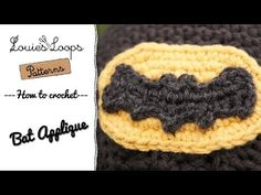 How to make a Crocheted Bat, written pattern on page along with this great video!!!