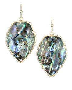 Probably my # 1 favorite. Corley Drop Earrings in Abalone Shell - Kendra Scott Jewelry
