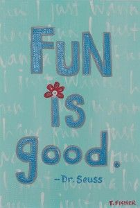Yes it is. So, go have fun ... with your cats, your kids, your significant other. Have a great evening. Peace.