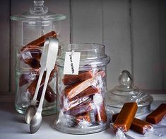 Australian Gourmet Traveller recipe for chewy caramels.