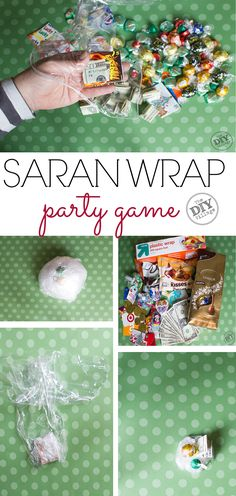 How to play the Saran Wrap Ball party game, including instructions. A must for your next get together!