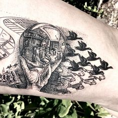 #tattoofriday - Caitlin Thomas, Australia.