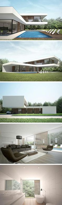 Modern villa C by NG architects www.ngarchitects.lt