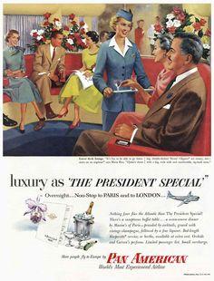 Vintage Ads pan American Airlines