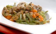 Receta de Guiso de verduras y legumbres con champiñones