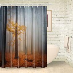 Foog Fog Forest Shower Curtains Yellow Lacdscape Tree Sho... https://www.amazon.com/dp/B01NCNS9ZD/ref=cm_sw_r_pi_dp_x_AUrwybQADNYGH