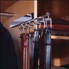 Saint Louis Closet Co. Tie Butlers Add Extra Tie Storage To Dadu0027s Closet.    Closet Accessories We Love   Pinterest   Tie Storage, Butler And Storage