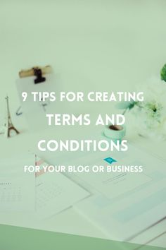 Having the Terms and Conditions listed on your website will protect you and your business and increase customer relationships. Here are 9 things that you should include in the Terms and Conditions of your blog or website.