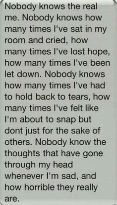 Story of a life.