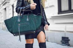 Women's Green Bag #stylebag #bag