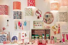 adeline klam - sconce shades - love these for a bedside reading lamp. Adeline Klam, Origami, Bedside Reading Lamps, Deco Nature, Lamp Cover, Little Girl Rooms, Paper Lanterns, Decoration, Kids Room