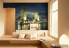 Fotomurales Big Bridge. Ideas decoración academia de inglés #decoración #academia #inglés #ideas #vinilo #TeleAdhesivo