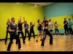 Becky's Zumba Class - Lady Gaga 'Telephone' - always loved this routine